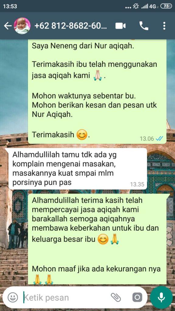 Harga Kambing Aqiqah Tangerang Selatan 2020